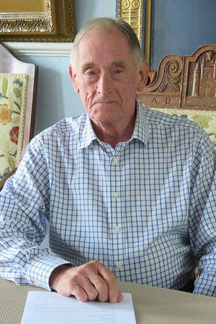 Gerry Lewin - Queenborough Fishery Trust